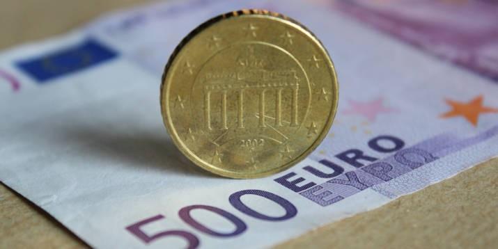 Euro Schein Geld Erbschaft