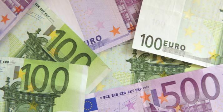 Euro Scheine Erbschaft