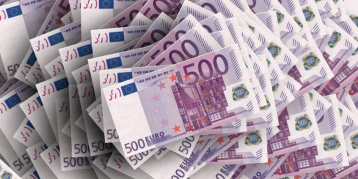 Geld Euro Vermögen