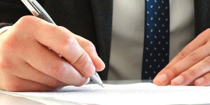 business unterschrift unternehmensnachfolge