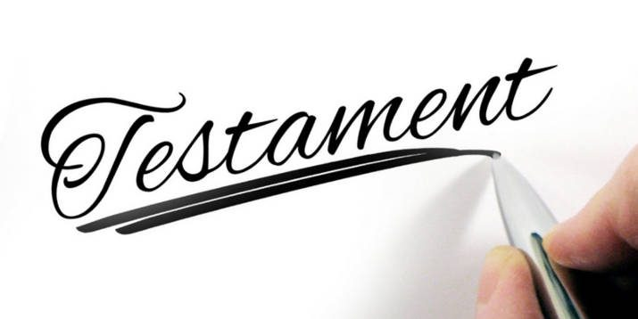 Handschrift Testament
